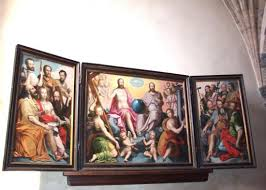 Nicolas de Hoey (1592) - Retable église de Vitteaux