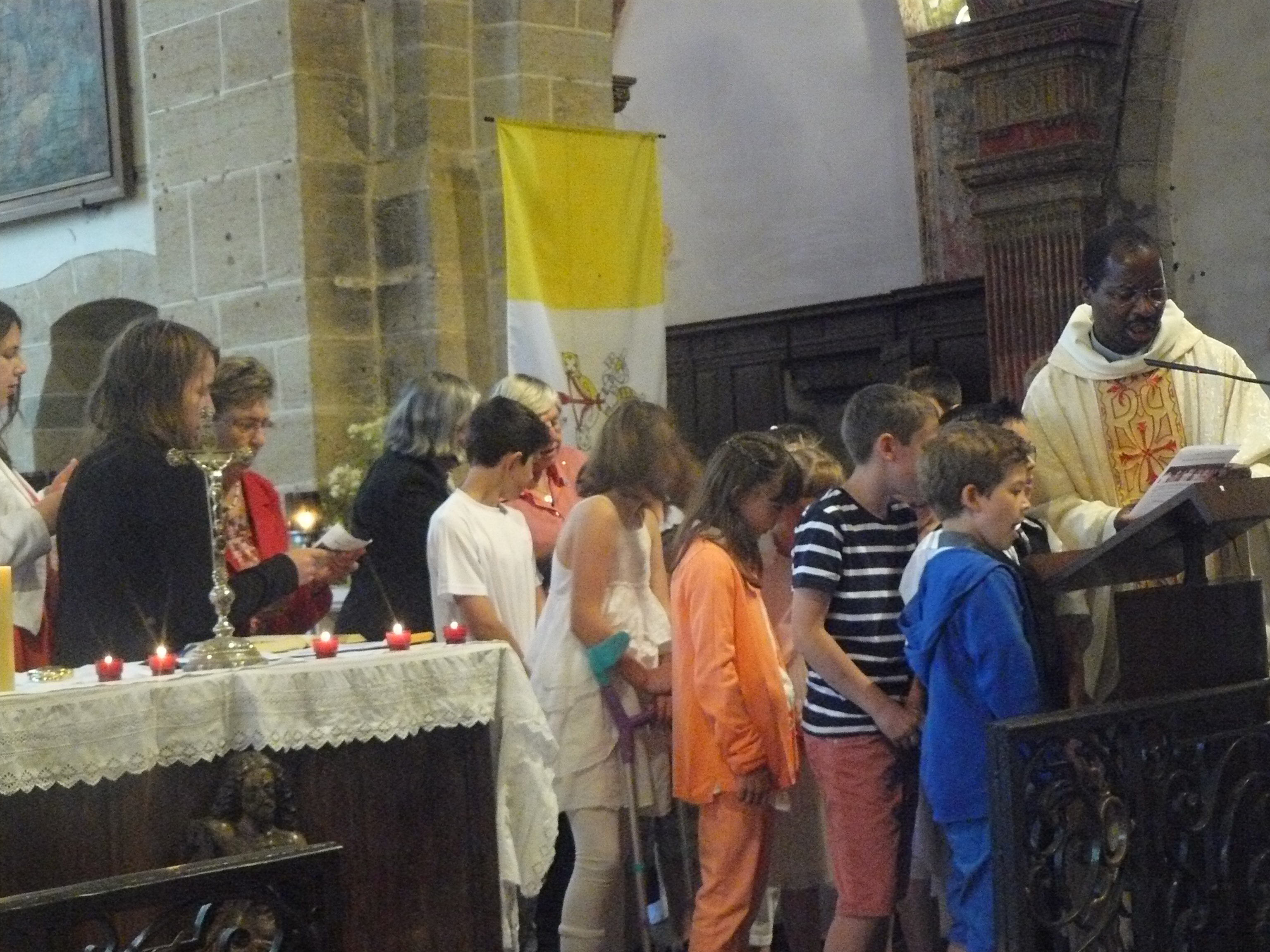 paroisse de vitteaxu première communion