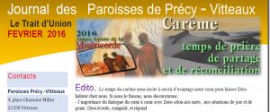 paroisse de vitteaux précy catholique