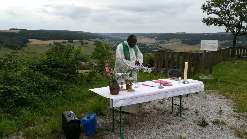 Messe à la chapelle St Abdon, le samedi 31 juillet 2021
