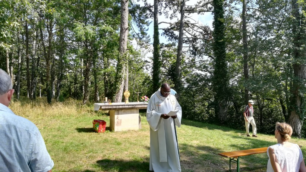 Vêpres à Villy le 15 août
